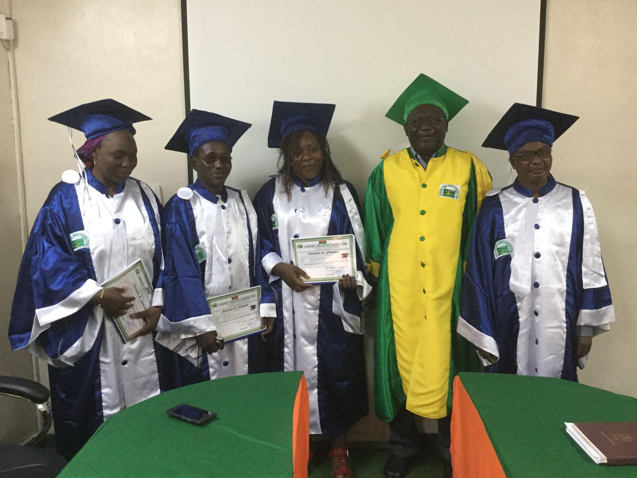 Clôtures de formation des agents du ministère de la santé publique du Niger et du GIZ Burkina