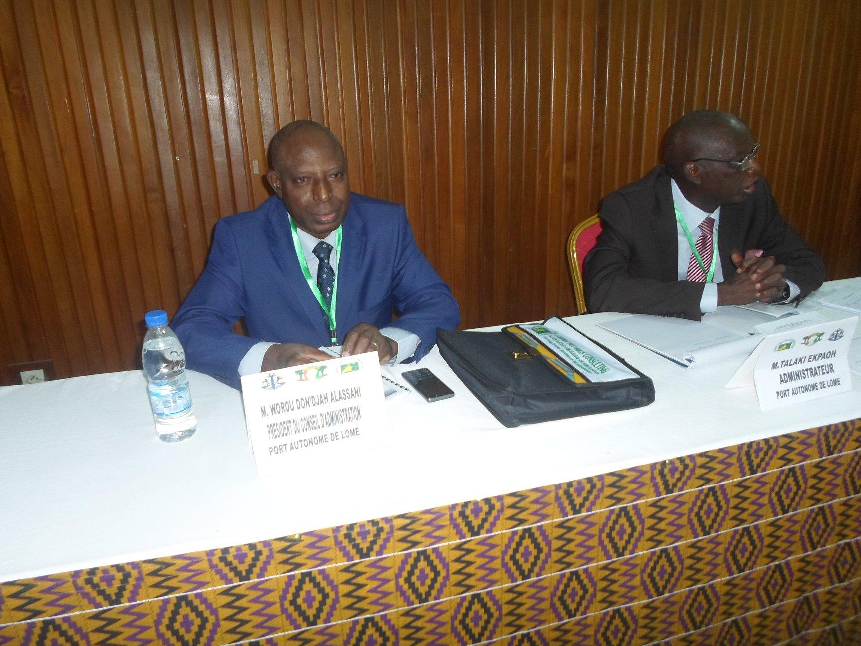 Clôture du top séminaire des administrateurs du port autonome de Lomé (PAL)
